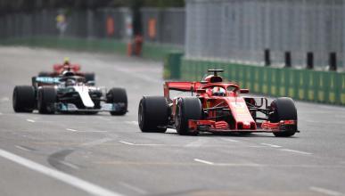 Adelantamientos F1 2018