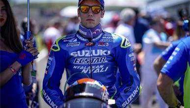 Álex Rins renueva con Suzuki