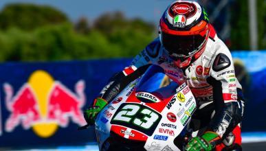 Antonelli comanda los Libres Moto3 Le Mans 2018
