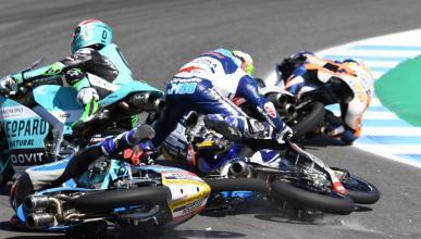 Aron Canet saldrá último en el GP de Francia de Moto3