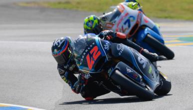 Bagnaia se hace con la pole en Moto2 Le Mans 2018
