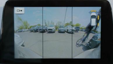 cámara trasera del nuevo Ford Focus