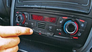 Cómo limpiar el climatizador del coche