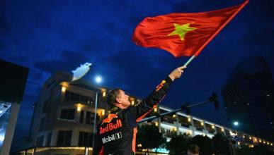 David Coulthard en Vietnam