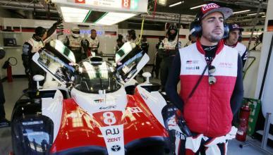 Fernando Alonso, en las 6 Horas de Spa