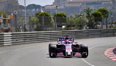 Force India en el GP de Mónaco