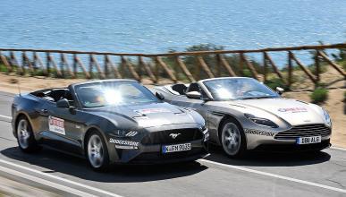 Ford Mustang Convertible vs Aston Martin DB11 Volante
