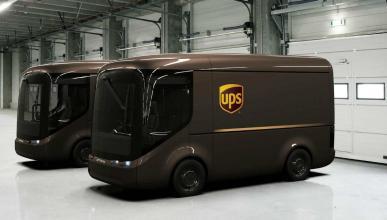 Furgonetas eléctricas UPS