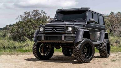 Mercedes-Benz G500 4×4² con llantas Forgiato
