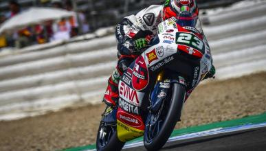Niccoló Antonelli domina los Libres Moto3 Jerez 2018