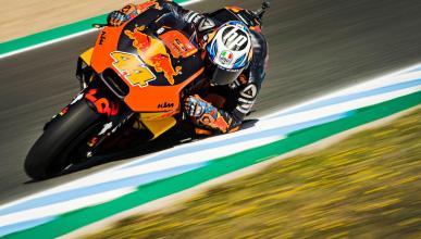Pol Espargaró, muy contento con las mejoras de KTM en Jerez