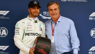 Pole de Hamilton en el GP España 2018