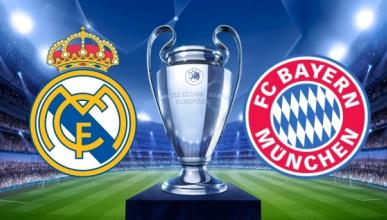 Real Madrid-Bayern online