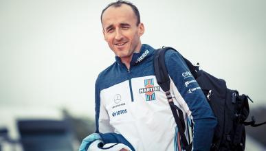 Robert Kubica, en el paddock de F1