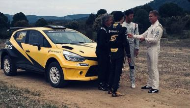 Sainz con Renault de Rallys