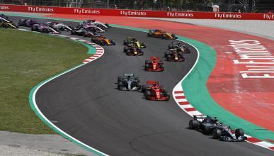 Salida GP España 2018