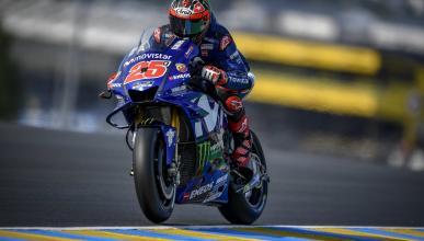 Viñales toma el mando en los Libres 3 MotoGP Le Mans 2018
