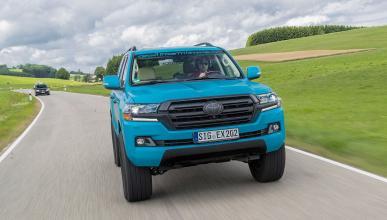 Al volante: Toyota Land Cruiser V8