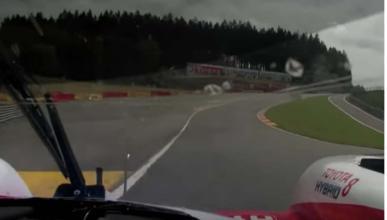 Vuelta de Alonso al Circuito de Spa