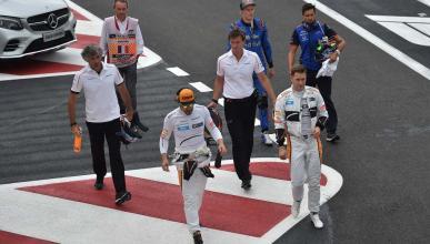 Alonso en Paul Ricard