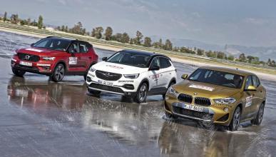 Comparativa Volvo XC40, BMW X2 y Opel Grandland X