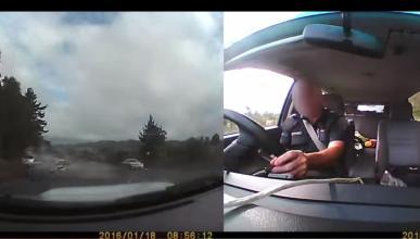 conductor evita acciente