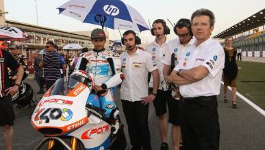 Héctor Barberá, despedido de su equipo de Moto2
