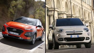 Hyundai Kona vs Fiat 500X