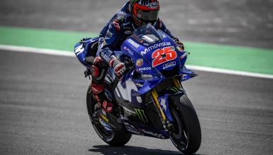 Maverick Viñales manda en los Libres MotoGP Assen 2018