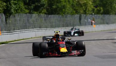 Max Verstappen manda en Canadá