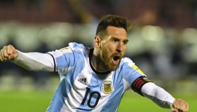 Messi en el Mundial 2018