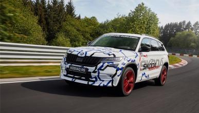 El nuevo Skoda Kodiaq RS completa una vuelta de récord en Nürburgring