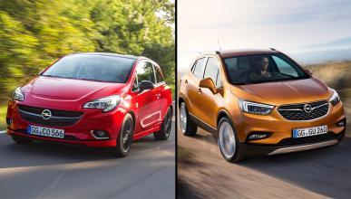 Opel Mokka X vs Opel Corsa