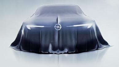Opel muestra el 'teaser' de un nuevo concept