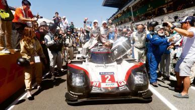Porsche 919 Hybrid ganador en Le Mans