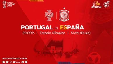 Portugal-España Mundial Rusia 2018