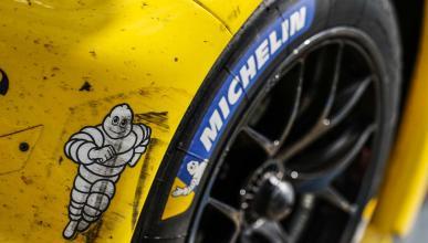 Rueda Michelin en un GT PRO de Le Mans