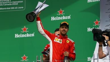 Sebastian Vettel gana en Canadá