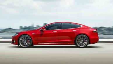 Tesla Model S P100DL de carreras