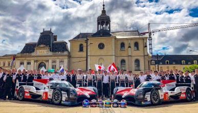 Verificaciones de Le Mans