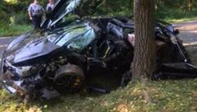 Accidente McLaren 720s
