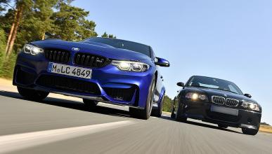 BMW M3 CS vs BMW M3 CSL de 2003