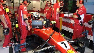 Box Ferrari GP Hungría