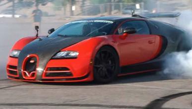 Bugatti Veyron tracción trasera