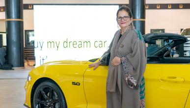 Ford Mustang para activista saudi