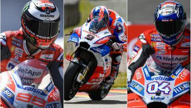 Lorenzo, Petrucci y Dovizioso, ¿quién será el rey de Ducati?