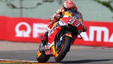 Marc Márquez, el más rápido en la Clasificación MotoGP Alemania 2018