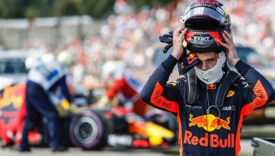Max Verstappen abandona en Hungría