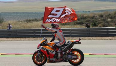 Motorland Aragón tendrá una curva con el nombre de Marc Márquez