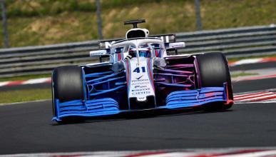 Nuevo alerón delantero Williams